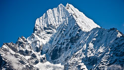 Mountain Views, Nepal: Peaks like this were in view constantly.